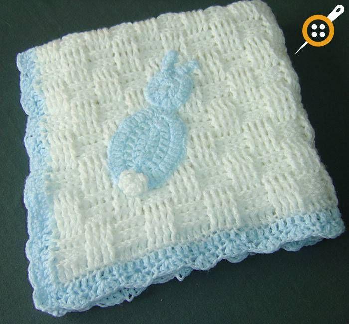 Tığ işi sepet örgüsü bebek battaniyesi modelleri