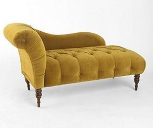 Mustard Yellow Chaise. Perfect For My Living Room.