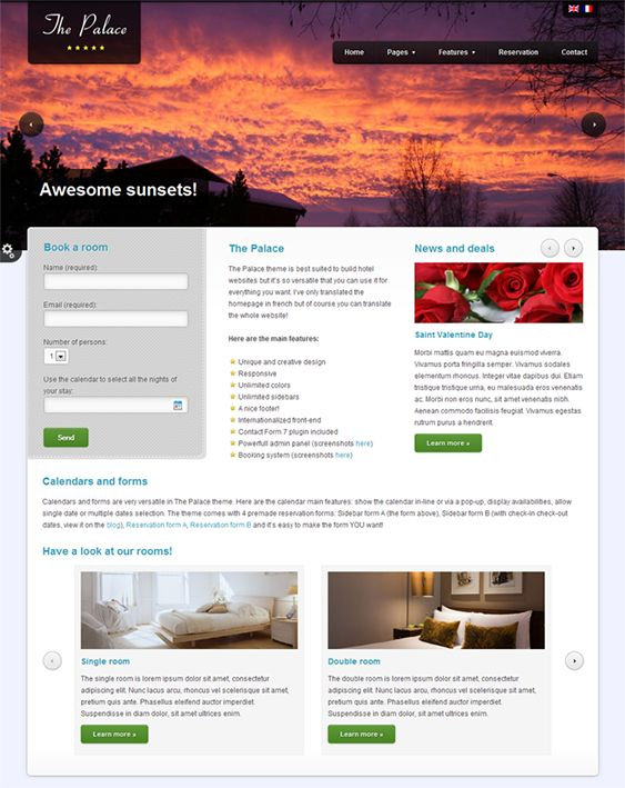 22 best 22 of the Best WordPress Themes for Hotels images on - online travel agent sample resume