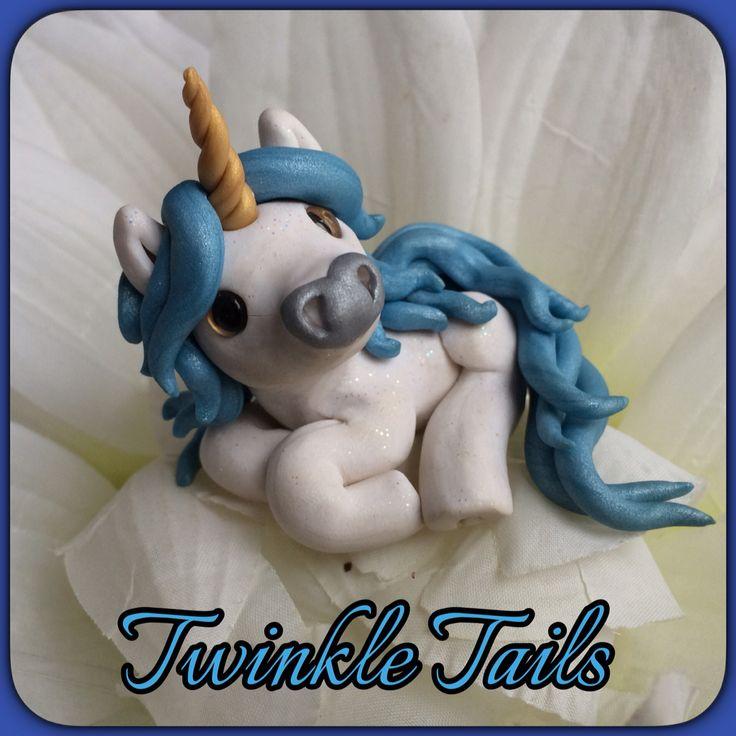Baby blue Unicorn Twinkle Tail pony! #unicornsrock www.facebook.com/TwinkleTails www.etsy.com/shop/TwinkleTailsGallery