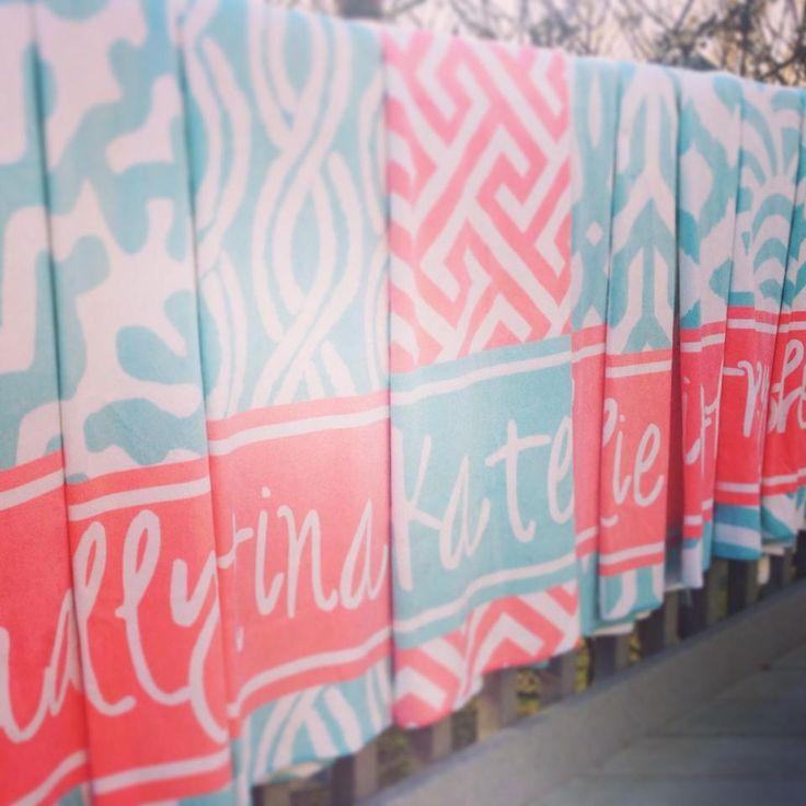 Bachelorette Beach Towels From Haymarket Designs