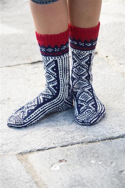 Tema 31: Modell 17 Sokker #strikk