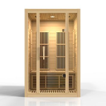 You'll love the Seattle Edition 2 Person Carbon FAR Infrared Sauna at Wayfair - Great Deals on all Outdoor products with Free Shipping on most stuff, even the big stuff.
