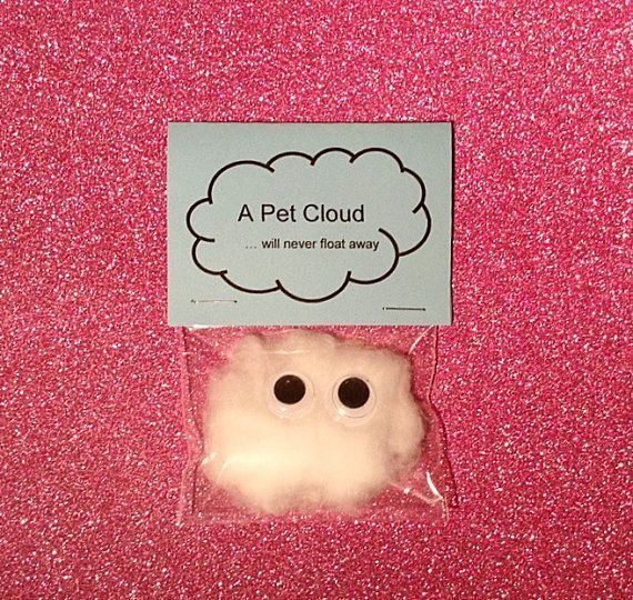 Pet cloud / wedding favors / wedding favours / quirky gifts / children / weird s