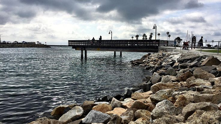 Fishing Photograph - Oceanside Fishing Pier by Jan Cipolla