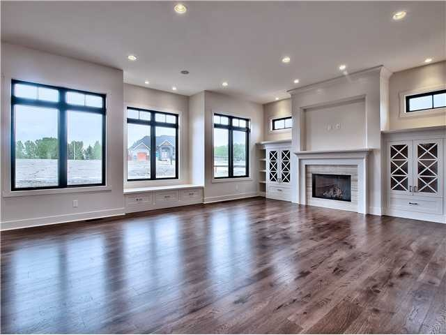 Http Www Watermarkatbearspaw Com 301 Spyglass Wy Rural Rockyviewcounty 1 750 000 Executive Home By Award Winning Home Free Standing Tub Hickory Flooring
