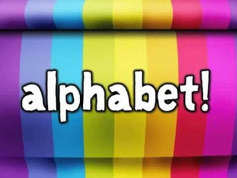 Do You Know Your Alphabet?  Awesome song
