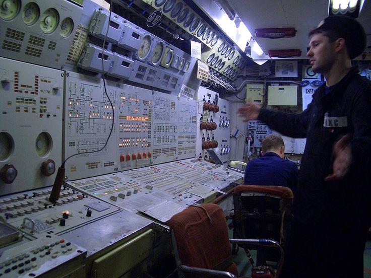 Inside A Soviet Typhoon Class Submarine Snapshots