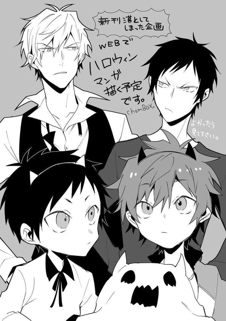By choco_mintea Durarara, Shizaya, Japanese anime series