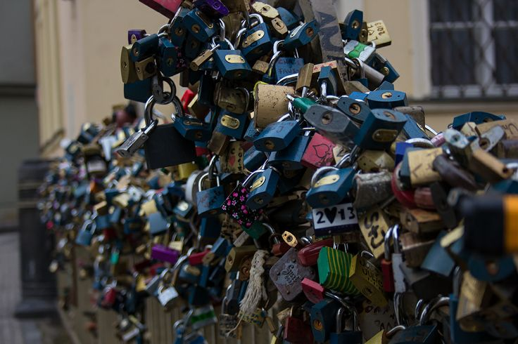 This PIN, is about lurve.  x x x   Taken in Prague 2014