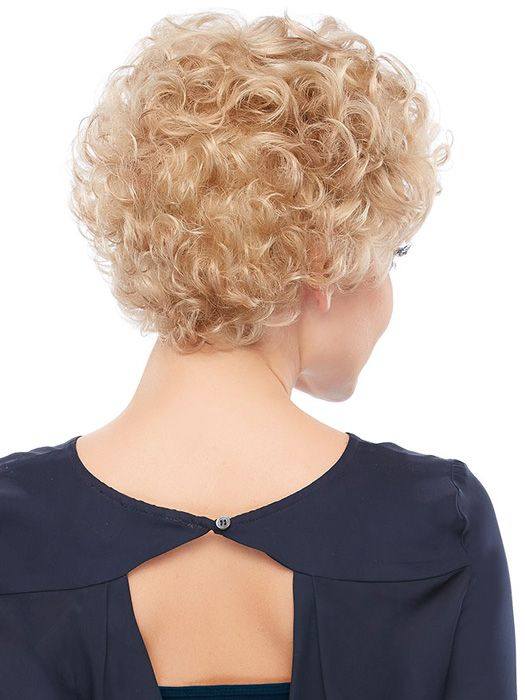 Short hair styles for blonde curly hair