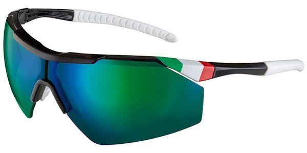 Salice 004 ITA Polarized BK/RWPGN Sunglasses
