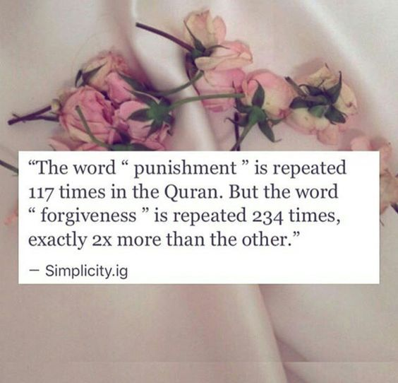 SubhanAllah! Islam is merciful! ❤️ #Forgiveness #Love #Faith