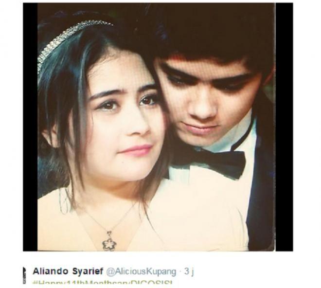Covesia.com - Dua pasangan artis muda yang dipertemukan di sinetron Ganteng Ganteng Serigala, Aliando dan Prilly berhasil membuat para fans 'menggila'....