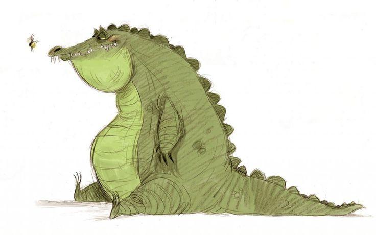 Louis - The Princess and the Frog. Ilustrador: Bill Schwabb