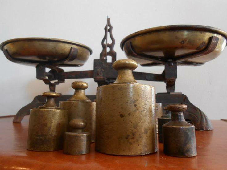 Antigua Bascula de Balanza  Antikes & Co. Antigüedades Cd. Juárez, Chihuahua