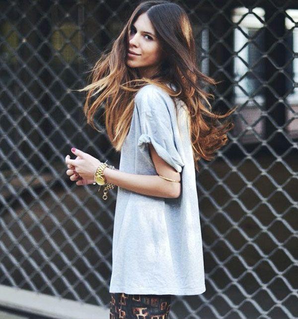 Maja Wyh look camiseta oversized.
