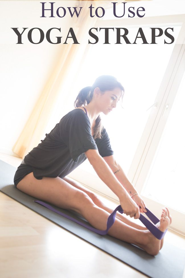 How To Use A Yoga Strap Yoga Strap Iyengar Yoga Yoga Tips