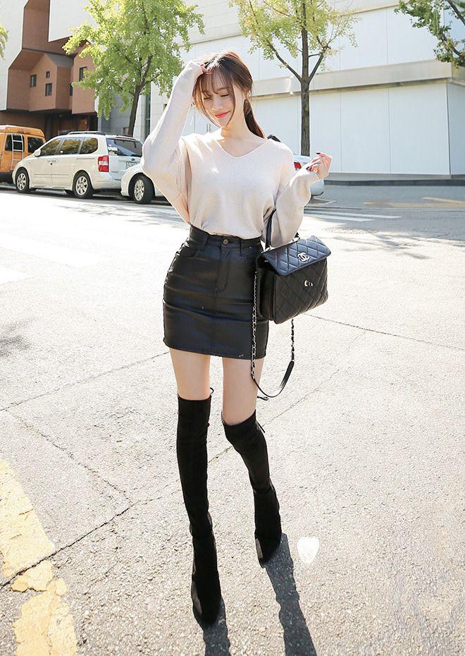Feather Coat Skirt