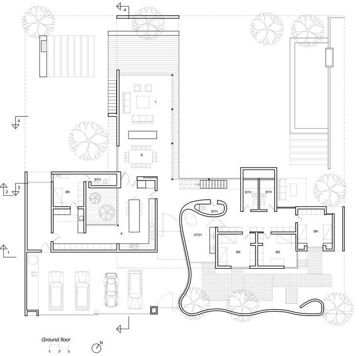 Artiagoitia House,Ground Floor Plan. Upper Level Plan (MBD/ba) Is