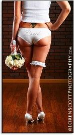 Boudoir Bride photoshoot...great idea. Put all the dieting and working out to good use then give it to your hubby as a wedding day gift.