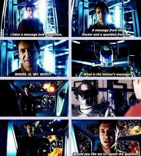 """Rory Williams. The Last Centurion. This is the exact moment when he went from being, """"Oh he's not leaving the friendzone Rory."""" to """"Oh that Rory guy, can I have one?""""."""