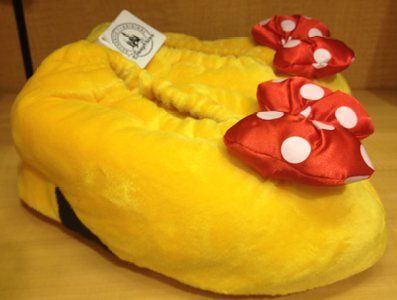 Disney Parks Minnie Mouse Heel Slippers (Adult - Medium) - Disney Parks Exclusive