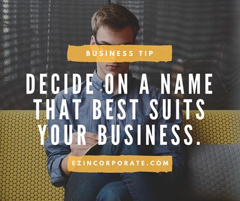 If your proposed business name is available, we can help you register it and have it trademarked at a state and federal levels. Visit www.ezincorporate.com to learn more about our services.