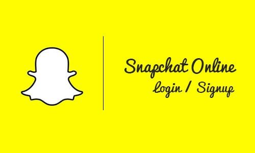 Snapchat Online Login Web - Account Snapchat Login Sign Up