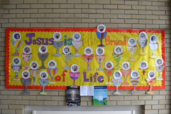 Nice idea for communion display
