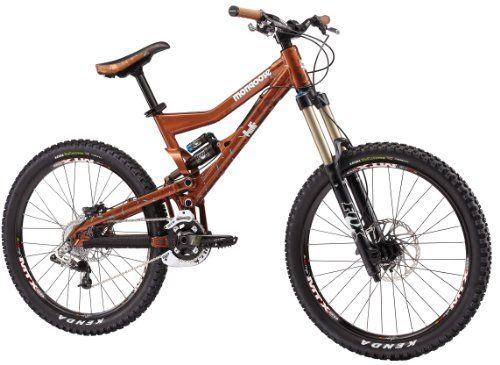BEST OFFER Mongoose Pinn'r Foreman Dual Suspension Mountain Bike - 26-Inch Wheels (Small)