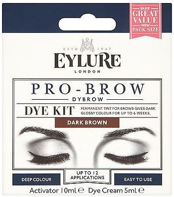#Eylure Pro Brow Dybrow Dye Kit Dark Brown