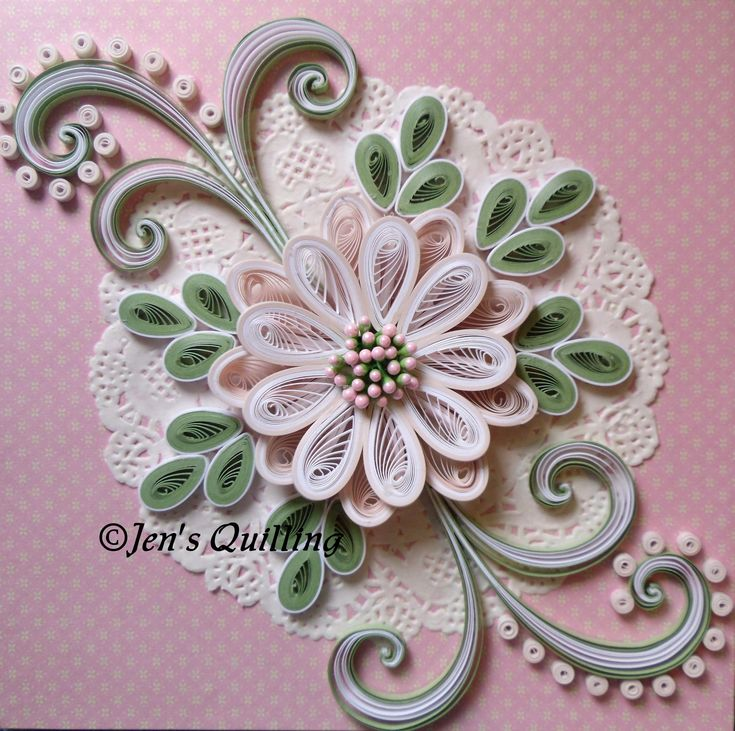 930 best images about beautiful quilling on pinterest for Paper quilling work