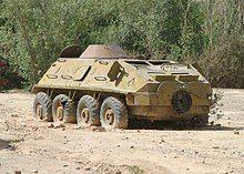 Abandoned BTR-60PB, Oruzgan Province, Afghanistan