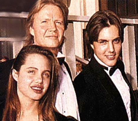 Family: Angelina Jolie, dad Jon Voight, and brother James Haven Voight