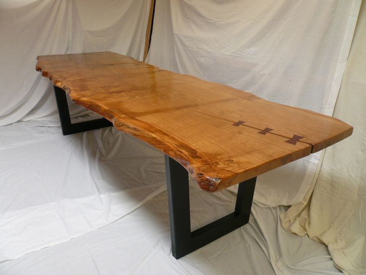 82 best Handmade Tables images on Pinterest | Oak dining table ...