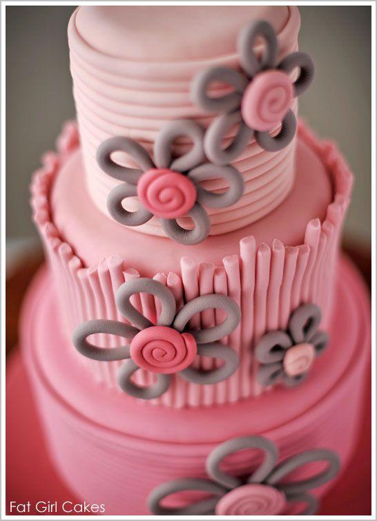 Half Baked – The Cake Blog » Quilled Flower Cake