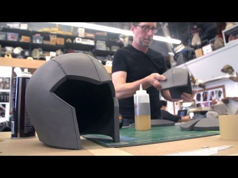 How To Make A Foam Helmet, Tutorial Part 3 - YouTube