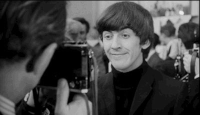 """When George takes a mean photo. 