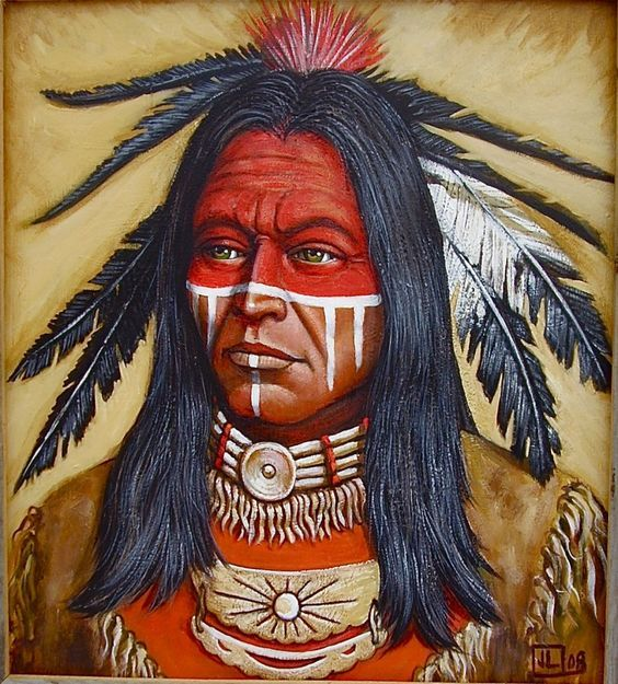 Traditional Native American Face Paint