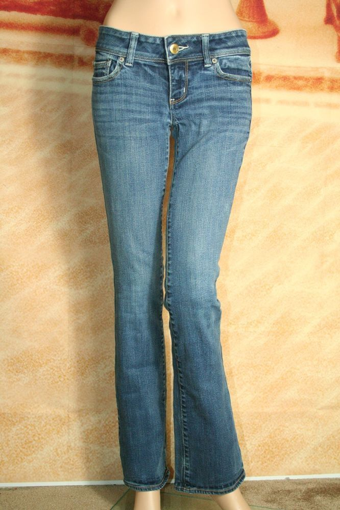 bc94c6ee426553 Womens American Eagle Outfitters Stretch Slim Boot jeans size 4 L  #AmericanEagleOutfitters