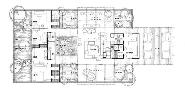 58 best arq case study architecture images on pinterest for Floor plan magazines