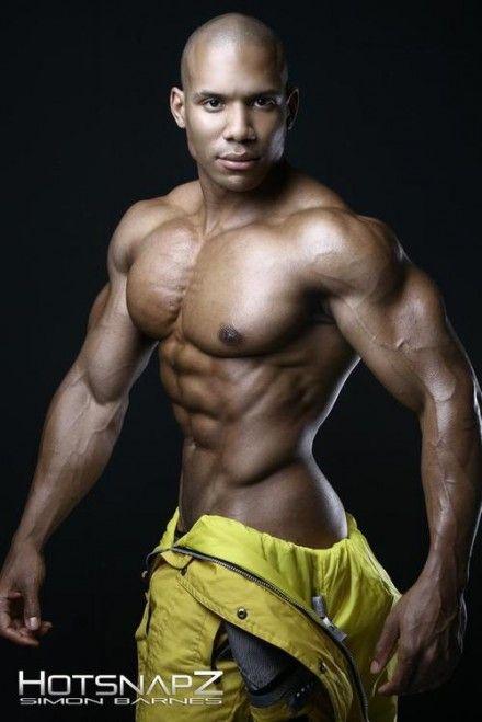 Tumblr Mm87B1U92I1Rj10Aro1 500 440X659 Hot Black Hunks Men -4961