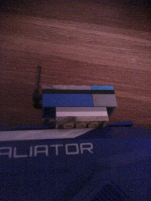 My lego nerf scope retaleatore