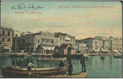Osmanlıda Özgürlüğün Beşiği Selanik Limanı 1910