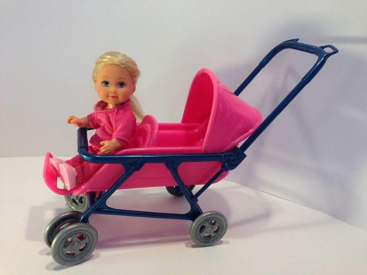 Simba Püppchen ( Evi Love) im Kinderwagen / Doppelkinderwagen