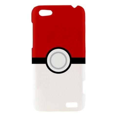 Pokemon Pokeball Inspired HTC One V Case Cover Hard Case Hardshell Case Pokeball Pokemon
