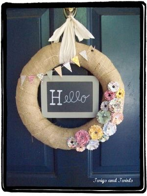 This would be really cute for a bridal shower. Just add some more pink.