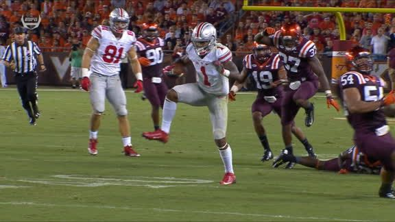 Image result for braxton miller spin move