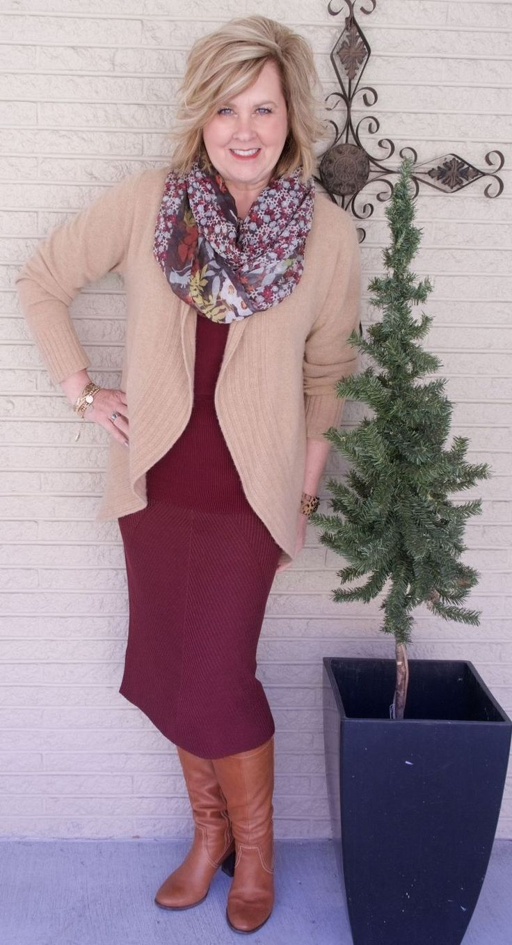 50 IS NOT OLD | BODY HUGGING SKIRT | FASHION OVER 40 | Work Appropriate | Dressy | Cashmere | Cozy and comfortable | Fashion over 40 for the everyday woman